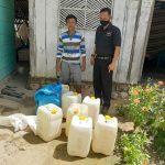 Dua Hari Menjelang Pelaksanaan Operasi Pekat Otanaha II, Polres Boalemo Sita 299 Liter Cap Tikus dan 58 Botol Miras Berlabel