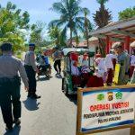 Disiplinkan Masyarakat Untuk Penerapan Protokol Kesehatan Polres Boalemo Gencar Lakukan Operasi Yustisi
