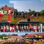 Mempererat Sinergitas TNI Dan Polri, Polres Boalemo Gelar Olahraga Bersama