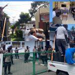 Ujuk Rasa Dari Aliansi Masyarakat Peduli Daerah mendapat Pengawalan dan Pengamanan Ketat Oleh Polres Boalemo