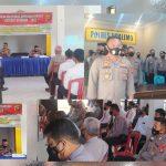 Dalam Rangka Operasi Ketupat Otanaha 2021, Polres Boalemo laksanakan Latihan Pra Operasi