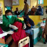 Dalam Rangka Kelancaran Pelaksanaan Vasinasi di Desa Tangkobu Bhabinkamtibmas Lakukan Pengamanan