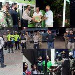 Cegah Penyebaran Dan Penularan Covit-19, Kapolres Boalemo Pimpin Langsung Patroli Disiplin Prokes