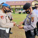 Tingkatkan Disiplin Personil, Propam Polres Boalemo Laksanakan Gaktibplin