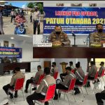 Latpra Ops Patuh Otanaha 2021 Polres Boalemo.