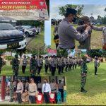 Upacara Gelar Pasukan Ops Patuh Otanaha 2021 Polres Boalemo