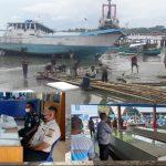 Satpolair Polres Boalemo Edukasi Para Nelayan Untuk Disiplin Prokes