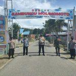 KAPOLRES BONE BOLANGO : PPKM Berskala Mikro,Desa Talulobutu Jadi Pilot Project