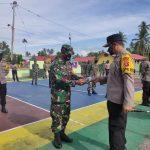 TNI Polri Bone Bolango Tetap Semangat Menjadi Ujung Tombak Dalam Penegakan Protokol Kesehatan