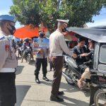 Operasi Keselamatan Otanaha – 2021, Polres Bone Bolango Gencar Himbau Masyaralat Patuh Berlalu Lintas Dan Protokol Kesehatan