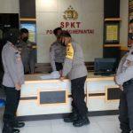 Wakapolres Bone Bolango Bersama PJU Cek Langsung Kehadiran Personil Yang Piket di Polsek Polsek Wilayah Pesisir
