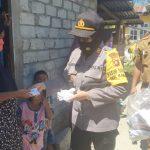 Kapolsek Kabila AKP Isnawati Dalali, SH Sosialisasikan PPKM Berskala Mikro Kepada Masyarakat Kecamatan Kabila