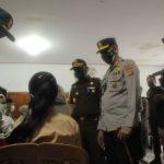 Forkopimda Provinsi Gorontalo Dan Kabupaten Bone Bolango  Tinjau Pelaksanaan Vaksinasi Massal Di SMP Negeri 1 Kabila