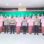 Bhayangkari Polres Bone Bolango Peringati Puncak Hari Kesatuan Gerak Bhayangkari (HKGB) ke-69 Tahun 2021
