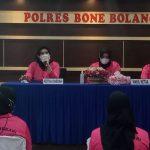 Silaturahmi Ketua Bhayangkari Daerah Gorontalo Ke Pengurus Bhayangkari Cabang Bone Bolango