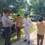Sepekan Berjalan, Personil Operasi Bina Kusuma Bagikan Masker kepada Pelajar dan Himbau Masyarakat Patuhi Prokes