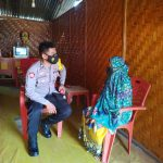 Bhabinkamtibmas Desa Dumbayabulan Himbau Warga Agar Tetap Patuhi Protokol Kesehatan