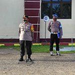 Apel Pagi Polres Pohuwato Dipimpin Oleh Kapolres Pohuwato Untuk Sampaikan Beberapa Arahan