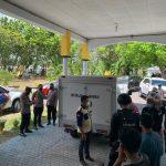 Vaksin Covid-19 Tiba Di Kabupaten Pohuwato, TNI-Polri Lakukan Pengamanan Ketat.