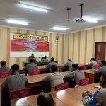 "Polres Pohuwato Gelar Latihan Pra Operasi Kewilayahan ""Pekat Otanaha I-2021"""