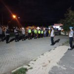 Berikan Rasa Aman Kepada Masyarakat, Polres Pohuwato Gelar Patroli Skala Besar Bersama TNI