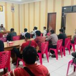 Silaturahmi dengan Awak Media, Kapolres Pohuwato Ingin Tingkatkan Sinergitas