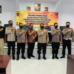 Tim Puslitbang Polri Lakukan Penelitian SOTK Inafis di Polres Pohuwato