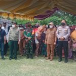 Kapolres Pohuwato Tinjau Pelaksanaan Vaksin Massal Di Kecamatan Wanggarasi