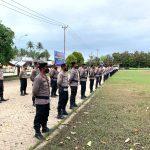 Polres Pohuwato Laksanakan Apel Gelar Pasukan Operasi Patuh Otanaha 2021