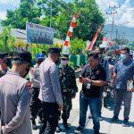Kapolres Pohuwato Kunjungi Tempat Vaksinasi Massal di Koramil Kecamatan Paguat