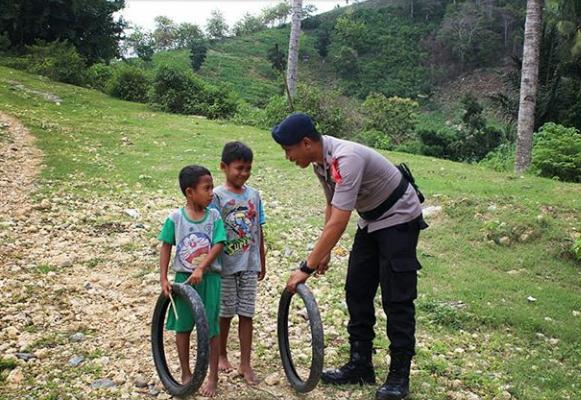 Brimob Gorontalo Selalu Siap Hadapi Segala Ancaman Bencana Humas Polda Gorontalo