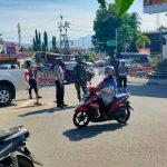 Kawal Keselamatan Masyarakat, Ketat Polda Gorontalo Terapkan Protokol Kesehatan