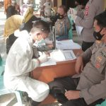 Polda Gorontalo Gelar Vaksinasi Serentak Guna Sukseskan Program Pemerintah Tangani Covid – 19