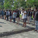 Terjaring Razia, 35 Remaja Diberikan Pembinaan Oleh Kapolres Gorontalo