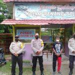 Pantau Penerapan Prokes di Tempat Wisata, Polsek Boliyohuto Intensifkan Patroli
