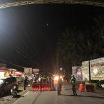 Rapat Koordinasi Pospam Atinggola-Pinogaluman, Penutupan Jalan Sudah Mulai Diberlakukan