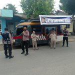 Melalui Patroli Mobile, Dit Binmas Polda Gorontalo Pantau Penerapan Prokes Ditengah Masyarakat