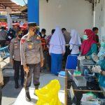 Sambut Hari Bhayangkara Ke-75, Polres Gorontalo Kota Lakukan Vaksinasi Gratis Ke 476 Warga Masyarakat