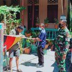 Tiga Pilar Kelurahan Ipilo Tertibkan Warga Yang Memasang Bendera Asing