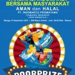 Bantu Percepatan Vaksinasi, Polsek Kota Timur Bersama PT Indomarco Prismatama Sediakan Doorprize Bagi Masyarakat