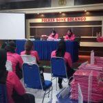 Ketua Bhayangkari Daerah Gorontalo Tatap Muka Bersama Pengurus Bhayangkari Cabang Bone Bolango