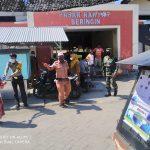 Kerjasama TNI-Polri dan Aparat Kelurahan Biawu, Imbau Masyarakat Patuhi Prokes
