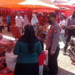 Operasi Bina Kusuma Polres Bone Bolango Terus Galakkan Himbauan Prokes dan Pembagian Masker